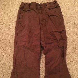 GYMBOREE AVIATOR ~ Boys Size 4 Linen Pants